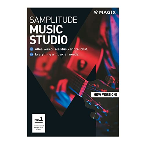 MAGIX Samplitude Music Studio – Version 2019 – das komplette Studio zum Komponieren, Aufnehmen, Mixen und Mastern. [Download]
