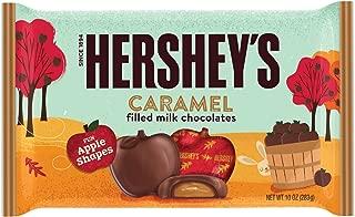 HERSHEY'S Fall Harvest Caramel Filled Milk Chocolate, 10 oz
