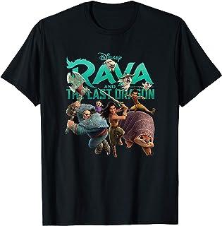 Disney Raya and the Last Dragon Characters Camiseta