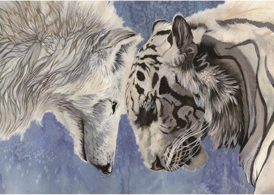 Quaant 5D Diamond Painting Bargain sale Wolf Animal Embroidery Rhi Max 64% OFF