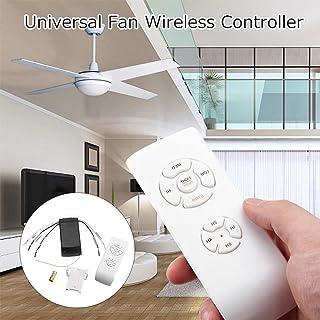 Kit de control remoto de lámpara de ventilador de techo universal de 110V / 220V, Kit para control de lámpara para ventilador técnico, Interruptor para control de temporización Transmisor y receptor