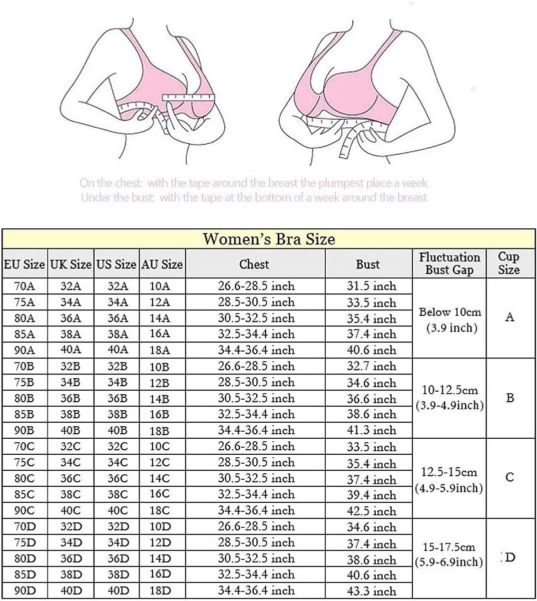 Honghamlion Womens Seamless Nursing Maternity Bra Padded Push up No Underwire Sleeping Bra