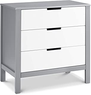 Carter's by DaVinci Colby 3-Drawer Dresser, Grey and White