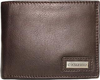 Camelio Brown Men's Wallet (CAM-BL-060)