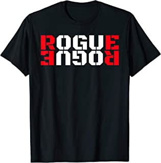 Rogue Tshirt Cool Military Style Armed Forces Bad Boy Shirt