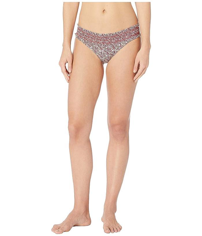 Tory Burch Swimwear Costa Hipster Bottom (Wild Pansy Mini) Women