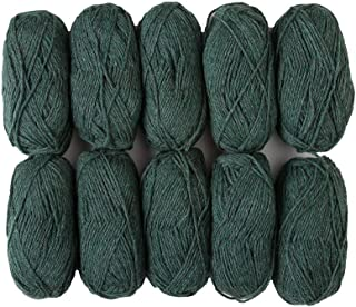 spun wool yarn