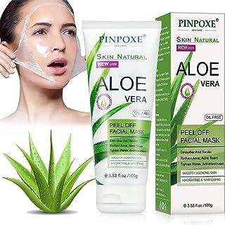 Mascarilla Exfoliante Facial Peel Off Máscara Máscara de Espinillas Máscara Facial de Aloe Vera Antiarrugas Mascarilla...
