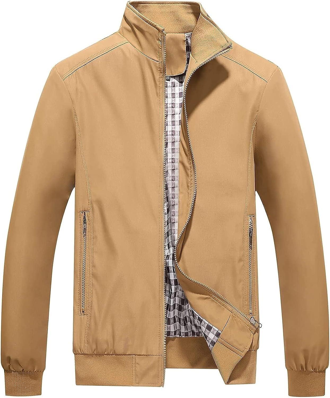 CRMY HSOSK Men's Bomber Nashville-Davidson Mall Lightweight Fl Recommended Transition Jacket