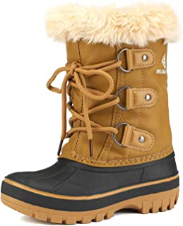 Boys & Girls Toddler/Little Kid/Big Kid Faux Fur-Lined Ankle Winter Snow Boots