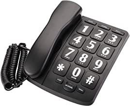 $25 » Suwimut Big Button Phone for Senior, Amplified Large Button Corded Phone for Senior, Landline Phone for Home Wall or Desk ...