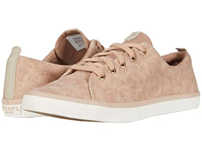 Sperry Sailor Lace-to-Toe Leather (Rose Dust) Women