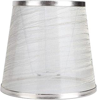 Focket - Pantalla para lámpara de techo (tela resistente, para salón, dormitorio, hotel)