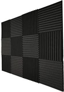 Teraves Acoustic Foam Panels-36 Pack Acoustic Panels Soundproofing Studio Foam Sound Proofing Padding for Wall 1