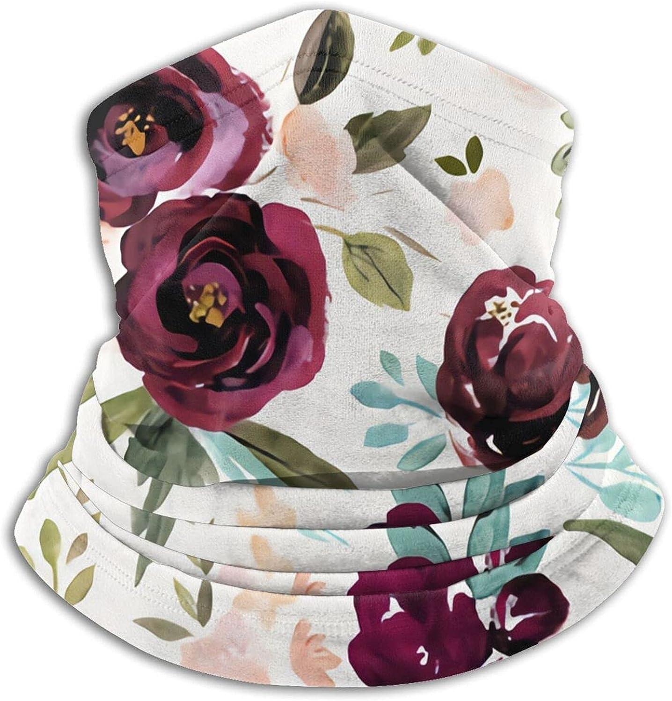 Valentina Rose Bandanas Neck Gaiter Face Mask Scarf Face Shield
