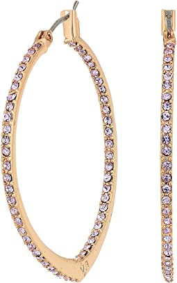 Vera Bradley - Sparkling Small Hoop Earrings