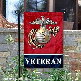 WinCraft US Marines Veteran Garden Flag