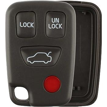 FikeyPro Keyless Entry Remote Car Key Fob for Volvo S80 S60 V60 XC60 V70 KR55WK49266