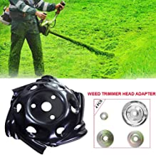 GRAWILLE Weed Trimmer Head Weed Edging Head Lawn Mower Trimmer Brush Cutter Head 9.5