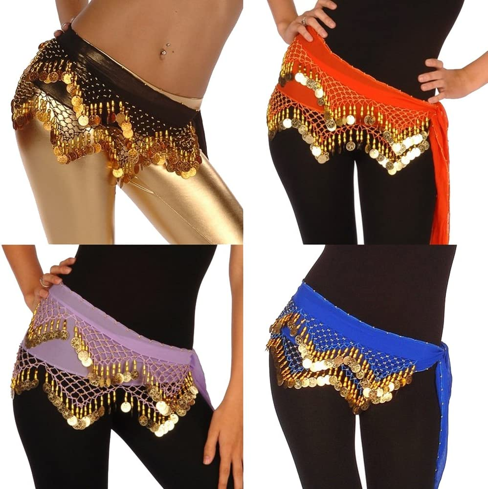Los Angeles Mall Wholesale Lots of 10 Chiffon Belly Scarf Credence Dance LC Model Hip