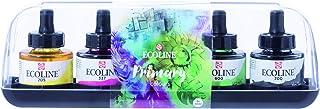 Royal Talens Ecoline Liquid Watercolor, 30ml Bottle, Set of 5 Colors (11259900)