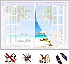 Magnetisch vliegenscherm venster, insectengaas scherm zonder boren transparant wasbaar gordijnnet, muggeninsecten bescherm...