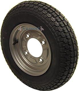 AB Tools Remolque de neumático y Rueda 3.50-8 con 115mm PCD para Erde,