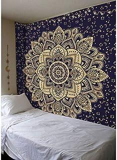 Tapiz Con Impresión Paisaje Naturaleza Arte Tapiz Colgante De Pared Colcha Cobertor habitación Dec