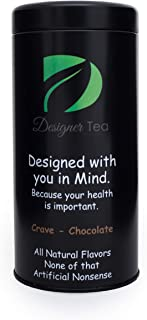 Detox Tea to lose weight fast, 28 Servings | Diet tea weight loss for a flat stomach | Fights Bloating and Suppresses Appetite | Increases Metabolism | Organic Oolong | Natural Chocolate Flavored Tea