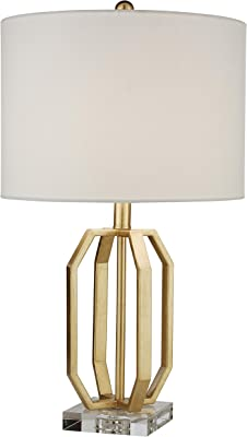 Clear or teal small Beatrice table lamp