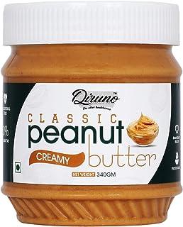 Diruno Classic Peanut Butter Creamy 340gm (Gluten Free, Non-GMO)