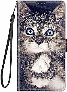 TYWZ Stijlvolle Kleurrijke Geschilderde Full Body Case voor Samsung Galaxy A71, PU Lederen Portemonnee Flip Kaarthouder Ki...