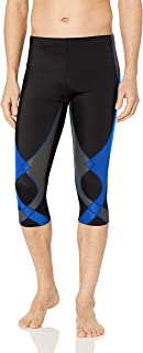 CW-X Men's Stabilyx Joint Support 3/4 Compression Tight Pants