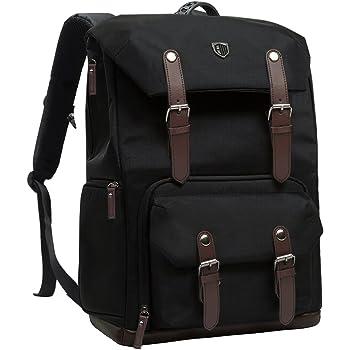 Color : Black, Size : 44x19x29cm DQJKL Camera Backpack SLR Lens Camera Liner Bag Storage Bag SLR Accessory Bag Digital Camera Bag Photography Bag Camera Bag