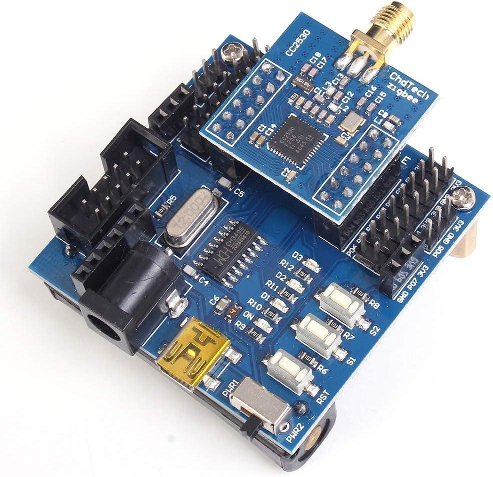 ilikfe Power Supply Module, Zigbee Core Board Development Board Kit IOT Smart Home Wireless Module Packet 24MHz 256KB Cc2530 Zigbee Module