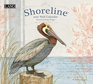 The LANG Companies Shoreline 2020 Wall Calendar (20991001993)