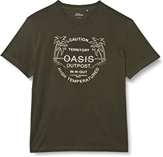 s.Oliver Big Size T-Shirt Uomo