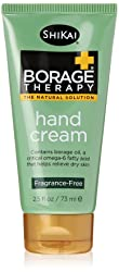 ShiKai - Borage Therapy Plant-Based Hand Cream, Soothing & Moisturizing Relief For Dry, Red and Itch