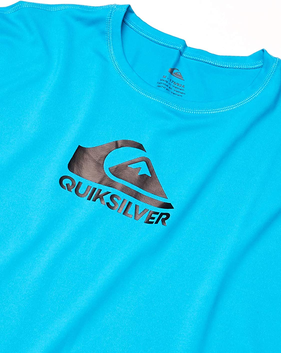 Quiksilver Mens Solid Streak Long Sleeve Rash Guard