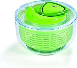 Zyliss Easy Spin Salad Spinner, Green, Small