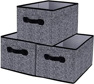 Homyfort Cloth Collapsible Storage Bins Cubes 15.7
