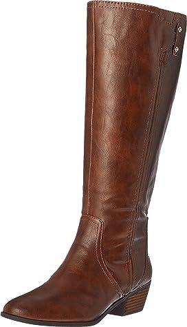 da977ad08694 Sam Edelman Prina Wide Calf Leather Tall Boot at Zappos.com