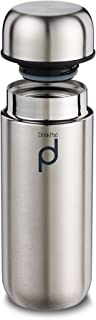 Grunwerg Drinkpod 200ml/7oz Stainless Steel Vacuum Flask Thermoses, Satin Finish HCF-200SS