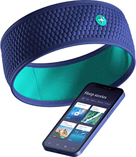 HoomBand Wireless | Bluetooth Innovative Headband for Sleep, Travel, Meditation | Charging Cable Included & Free Access to...