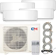 Quad 4 Zone 9000 9000 9000 12000 Ductless Heating and Cooling Mini Split Ductless Air Conditioner Heat Pump System