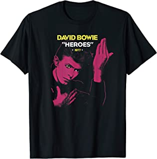 David Bowie - Heroes 1977 T-Shirt