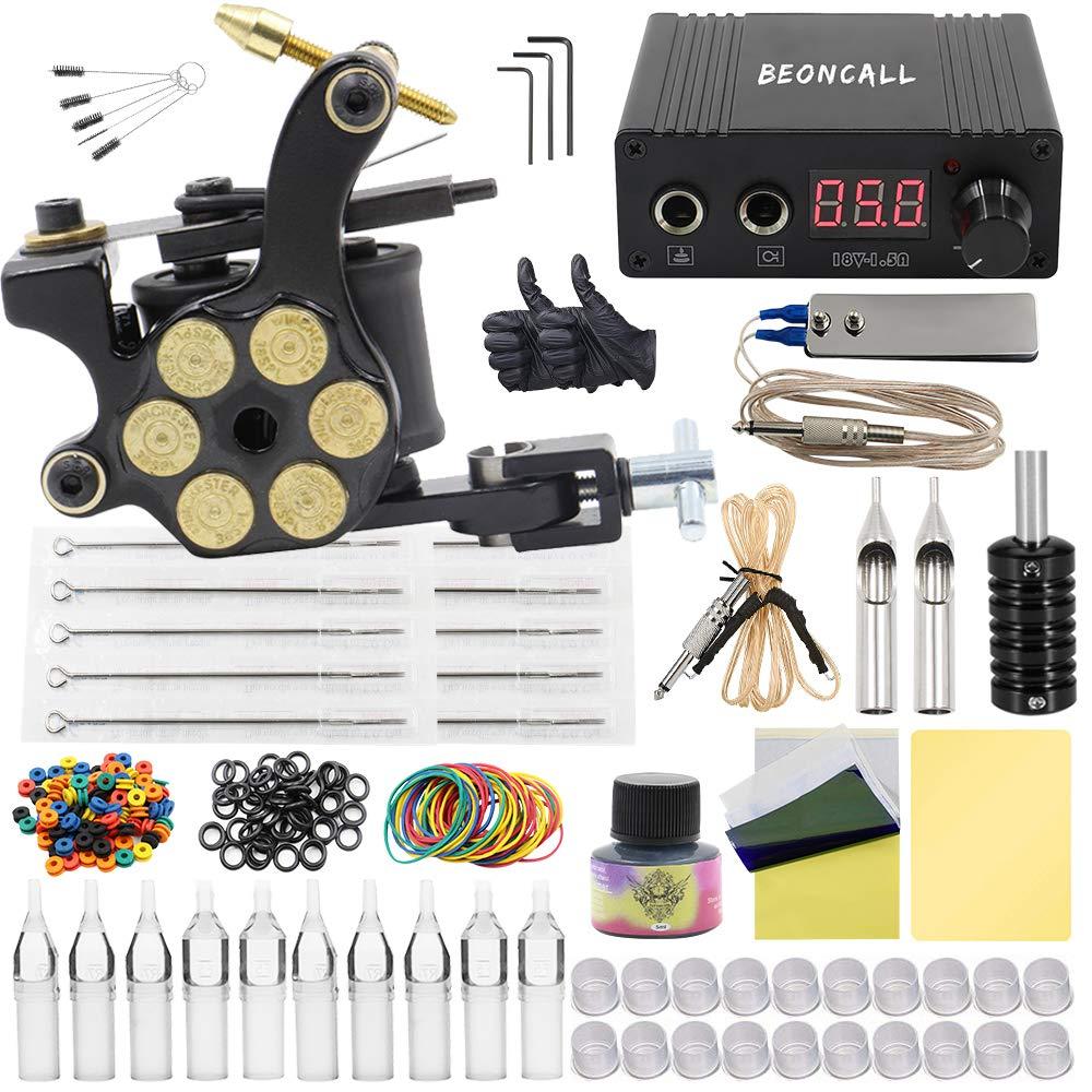 Complete Popular products Tattoo Kit Max 40% OFF Beoncall Machine Gun Set