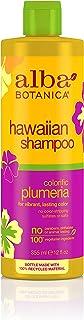 Alba Botanica Hawaiian, Plumeria Shampoo, 12 Ounce (Pack of 6)