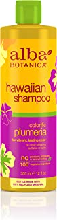 Alba Botanica Colorific Plumeria Hawaiian Shampoo, 12 oz.