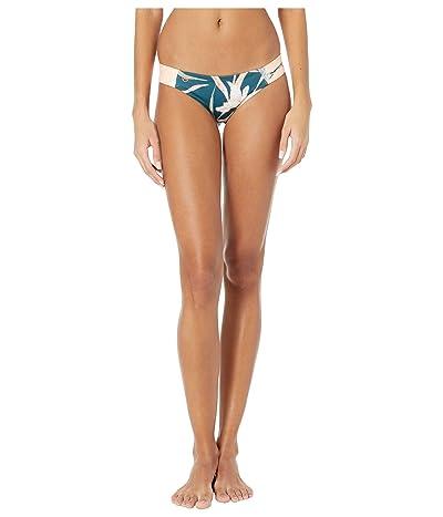 Maaji Amazon Docks Eco Reversible Signature Coverage Bikini Bottoms (Rainforest Green Eco Floral) Women